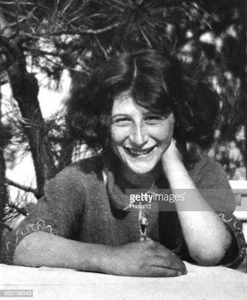 Simone Weil in her schoolgirl years 20th century France Private collection