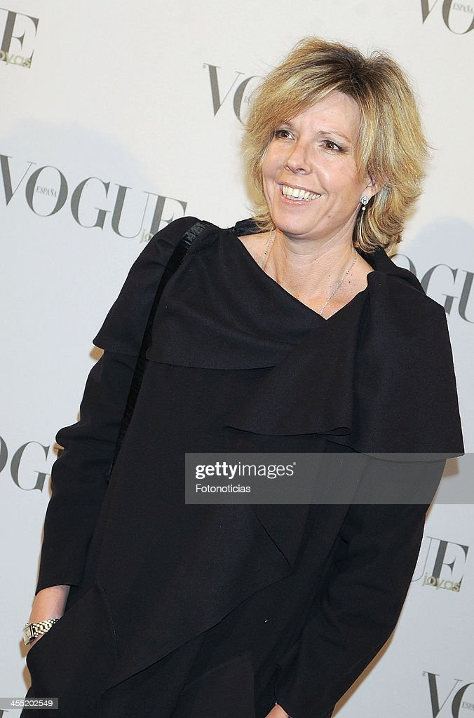<a gi-track='captionPersonalityLinkClicked' href=/galleries/search?phrase=Simoneta+Gomez+Acebo&family=editorial&specificpeople=5874803 ng-click='$event.stopPropagation()'>Simoneta Gomez Acebo</a> attends Vogue Joyas 2013 Awards at the Palacio de la Bolsa on December 11, 2013 in Madrid, Spain.