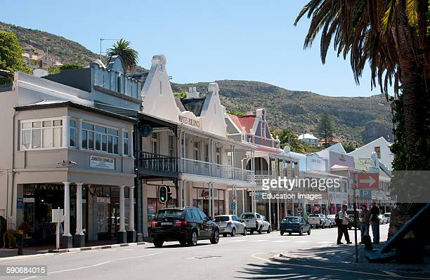 Simon's Town a resort naval base Western Cape South Africa