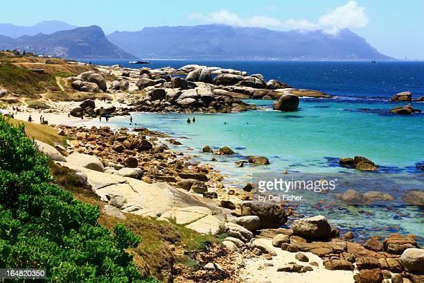 Simon's Town beach, Cape Penninsula, South Africa