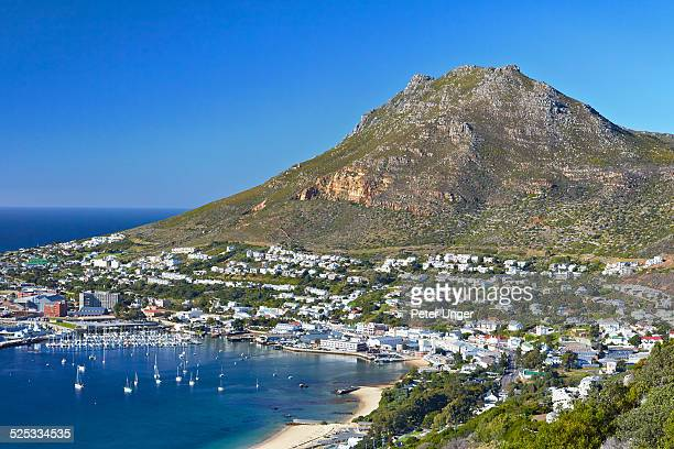 Simon's Town located on the shore of False Bay