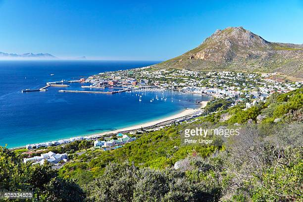 Simon's Town located on the shores of False Bay