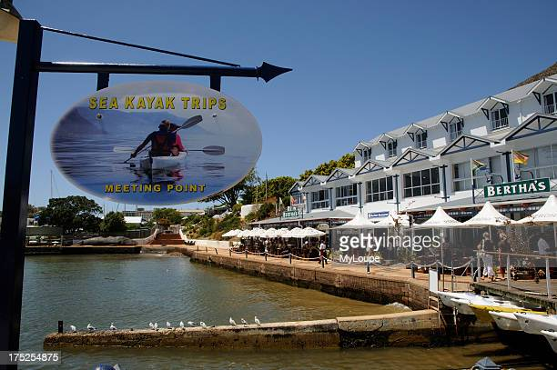 Simonstown waterfront in the western Cape close to Cape Town South Africa South African holiday resort and naval base