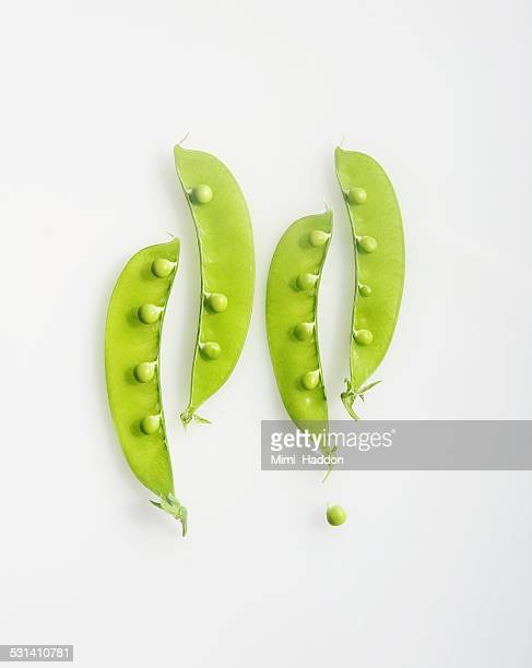 Simple and Elegant Pea Pods and Loose Pea