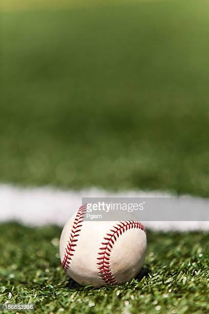 Simple baseball background on the diamond