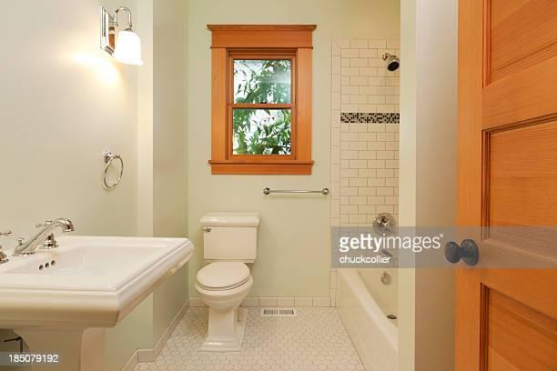 Einfache Badezimmer