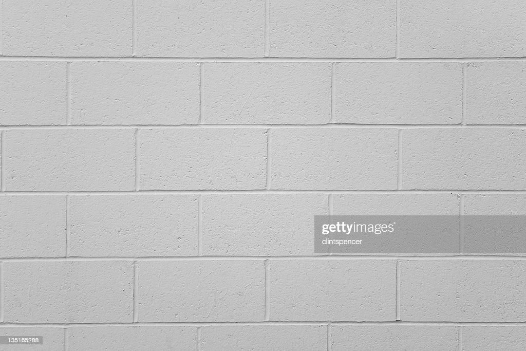 Simple Cinder Block Wall Stock Photo Getty Images - Cinder block wall
