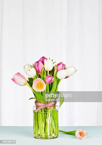 Einfache und Blumen mit Copyspace