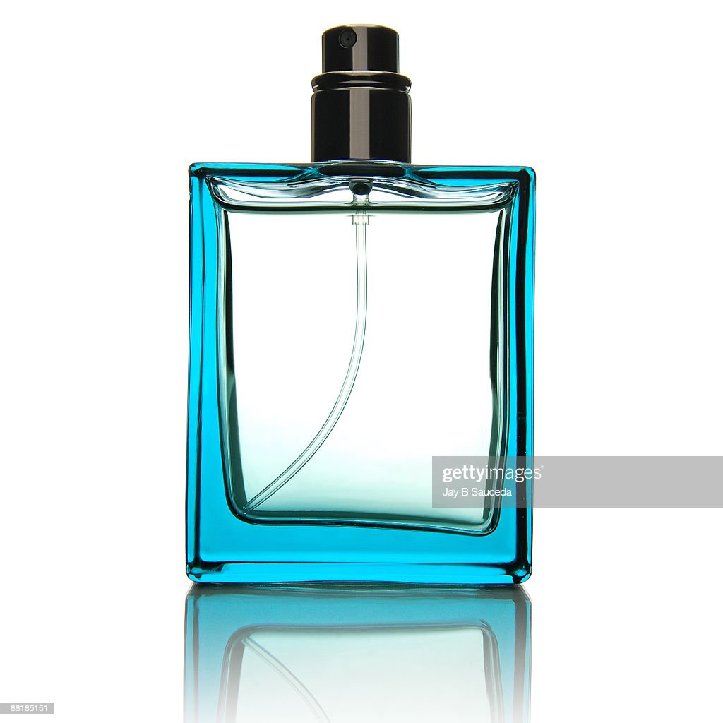 Simple fragrance bottle : Stock Photo