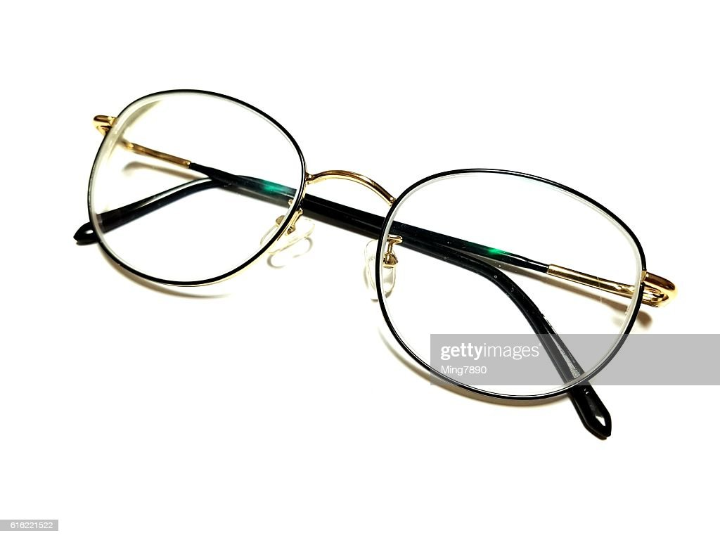 simple glasses : Stock Photo