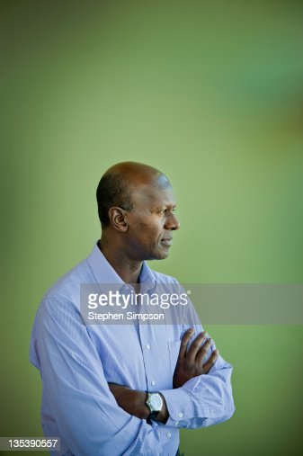 simple informal corporate portrait : Stock Photo