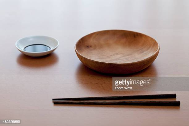 Simple Japanese Dish Setting