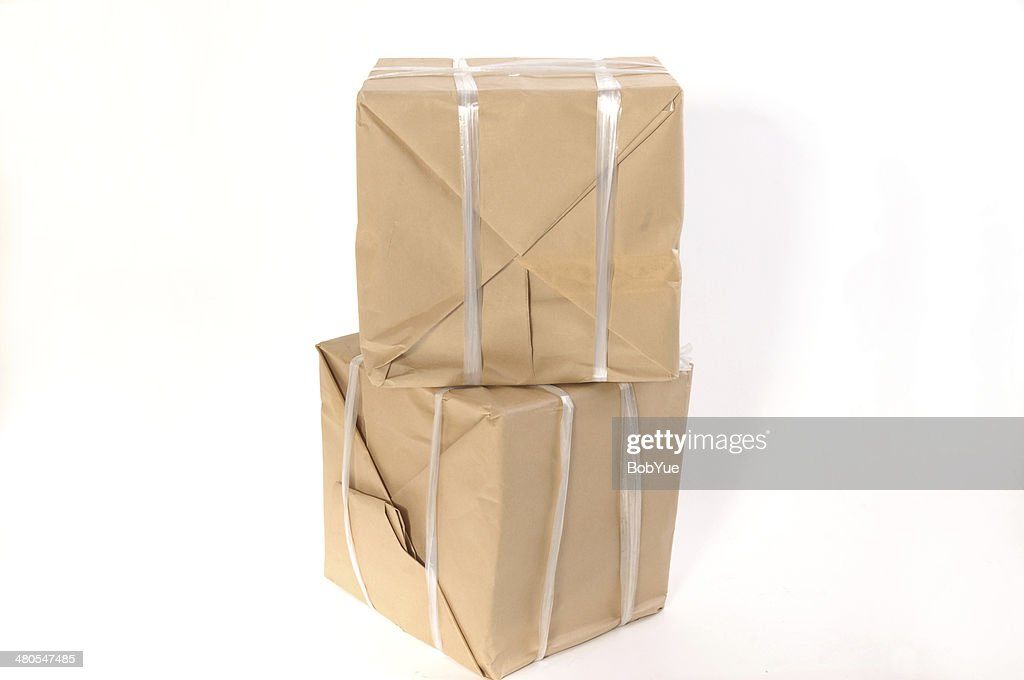 Simple packaging : Stock Photo