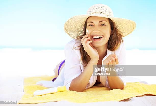 Simples produtos de cuidados da pele