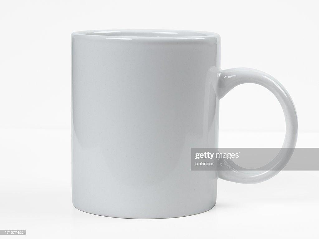 Simple White Mug