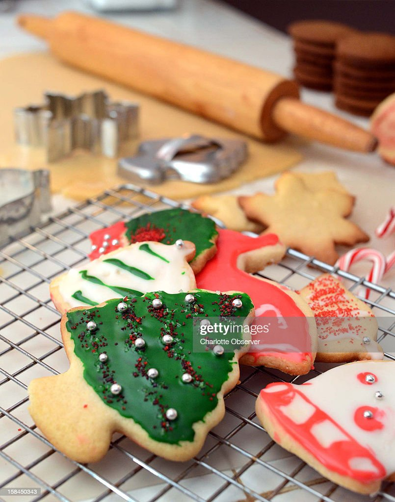Simplify baking these holiday sugar cookies by making the dough in advance and keeping it in the refrigerator until time to rolle out, cut and bake.