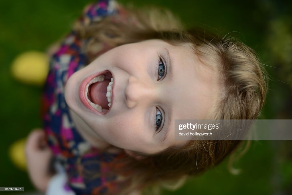 Simply happy : Stock Photo