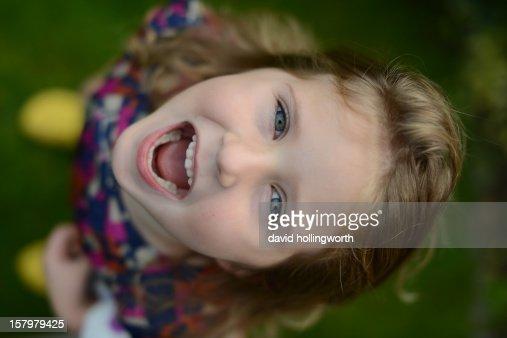 Simply happy : Stock Photo