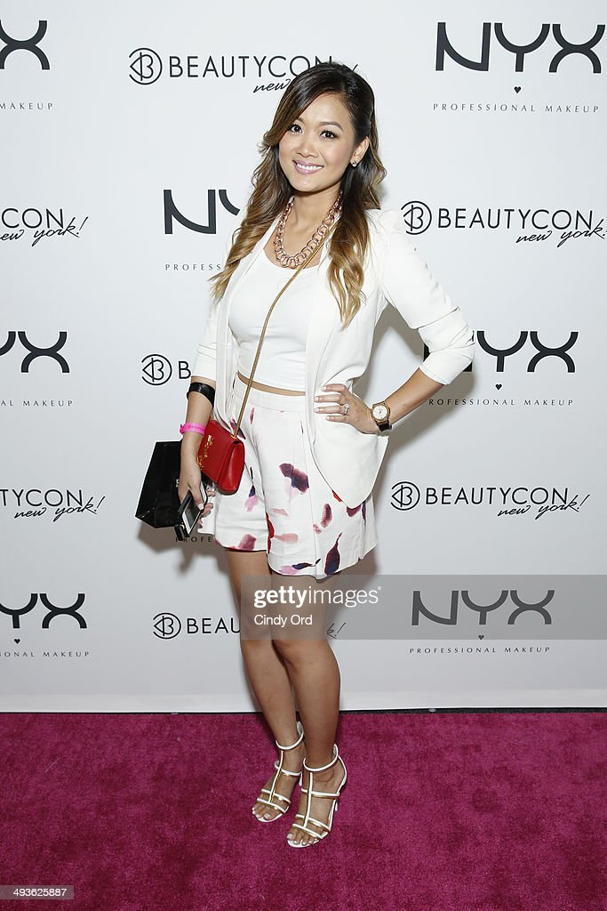SimpLy Modish attends NYX Cosmetics Talent Lounge At BeautyConNYC at Pier 36 on May 24, 2014 in New York City.