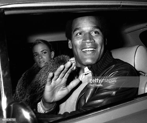 J Simpson and Nicole Brown Simpson sighted on January 7 1981 at Stellini's Restaurant in Beverly Hills California