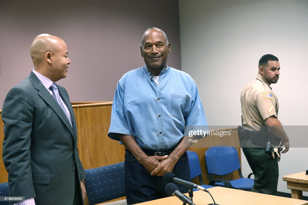 O.J. Simpson Granted Parole from Prison