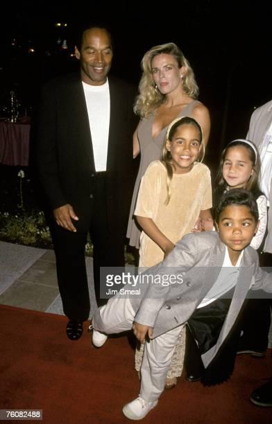 OJ Simpson Nicole Brown Simpson and children