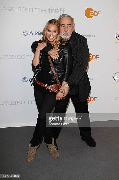Sina Tkotsch and Udo Walz attend the ZDF summer reception on July 2 2012 in Berlin Germany