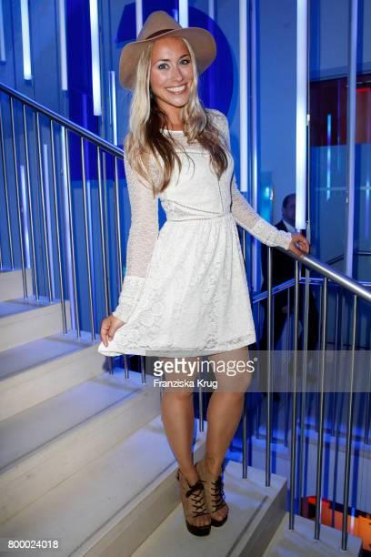 Sina Tkotsch attends the 'Bertelsmann Summer Party' at Bertelsmann Repraesentanz on June 22 2017 in Berlin Germany