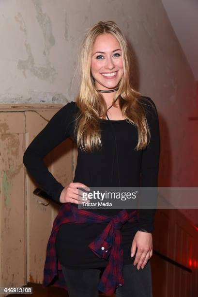 Sina Tkotsch attends the Ernsting's family Music Fashion Dinner on March 1 2017 in Berlin Germany