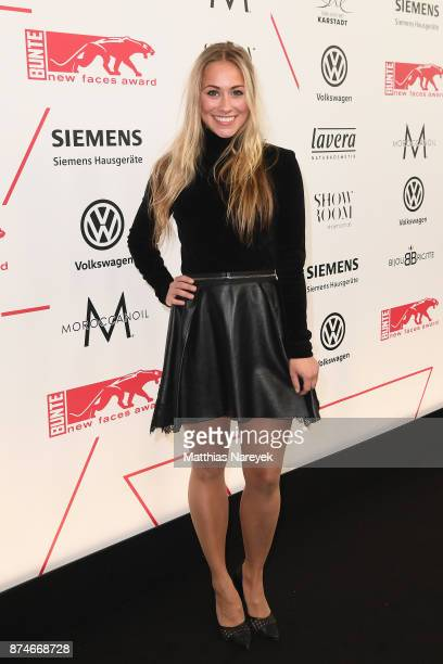Sina Tkotsch attends the New Faces Award Style 2017 at The Grand on November 15 2017 in Berlin Germany