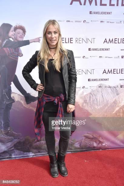 Sina Tkotsch attends the premiere 'Amelie Rennt' on September 10 2017 in Berlin Germany