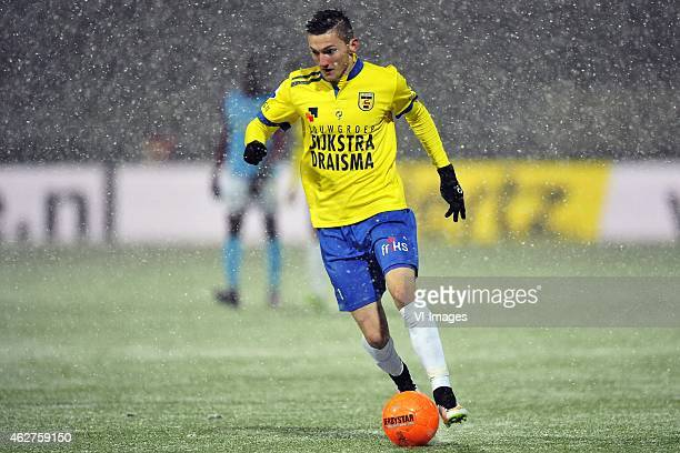 Sinan Bytyqi during the Dutch Eredivisie match between SC Cambuur Leeuwarden and Vitesse Arnhem at the Cambuur Stadium on February 4 2015 in...