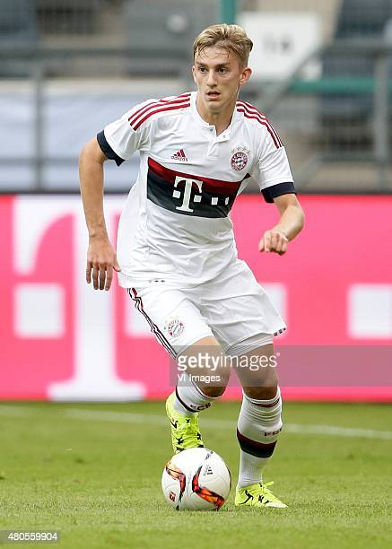 Sinan Kurt of FC Bayern Munchen during the Telekom Cup friendly match between Bayern Munich and FC Augsburg on July 12 2015 at the Borussia Park...