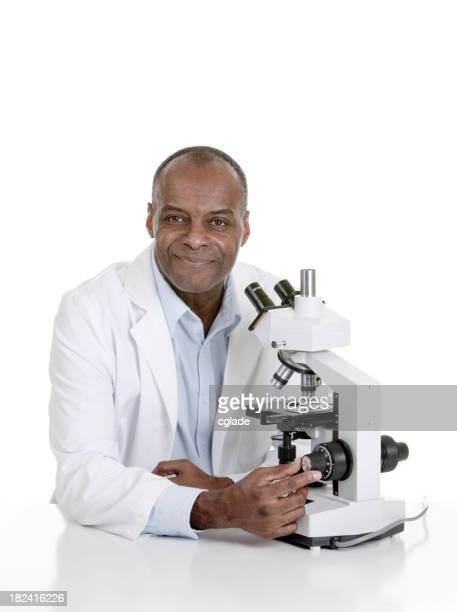 Sincere African American Doctor