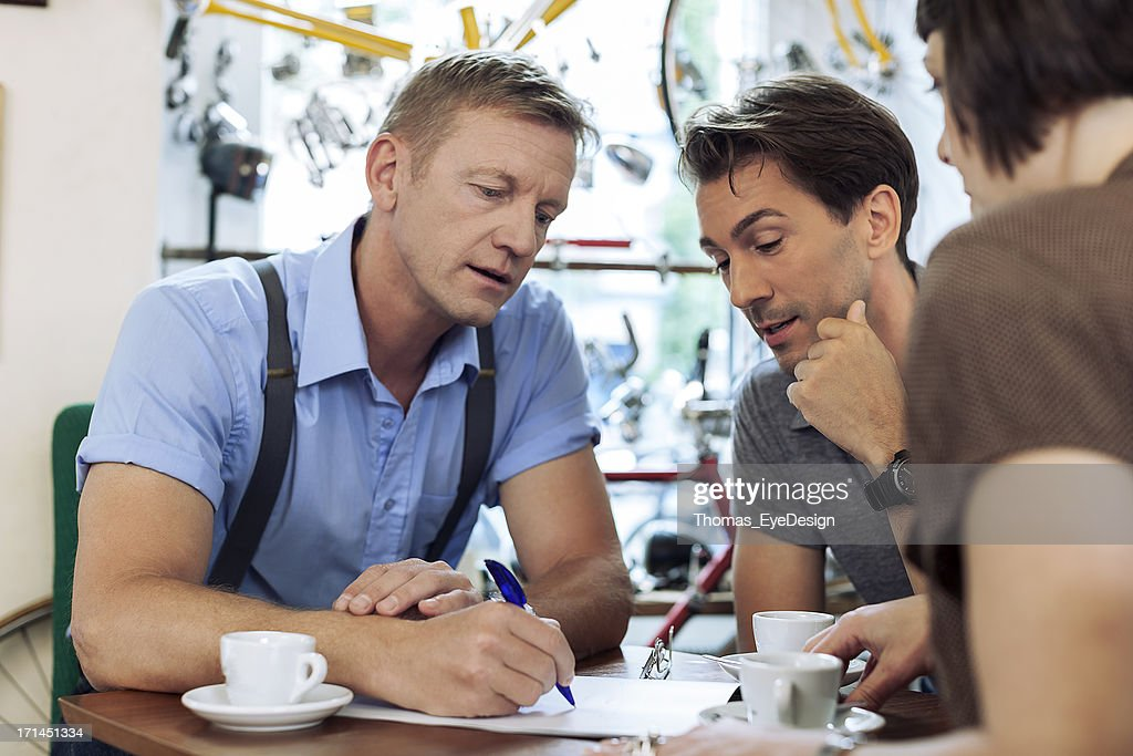 Sincere Small business Owner : Stock Photo
