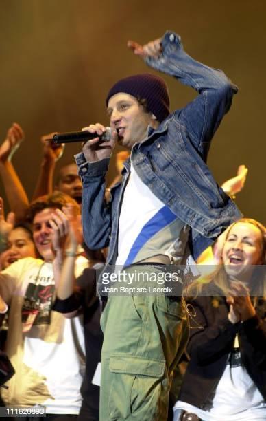 Sinclair Performing during Paris 2002 Solidays Festival Celebrities Against Aids at Hippodrome de Longchamps in Paris France