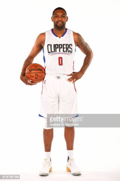 Sindarius Thornwell of the LA Clippers poses for a portrait during a shoot in Playa Vista California on July 18 2017 at the Clippers Training...