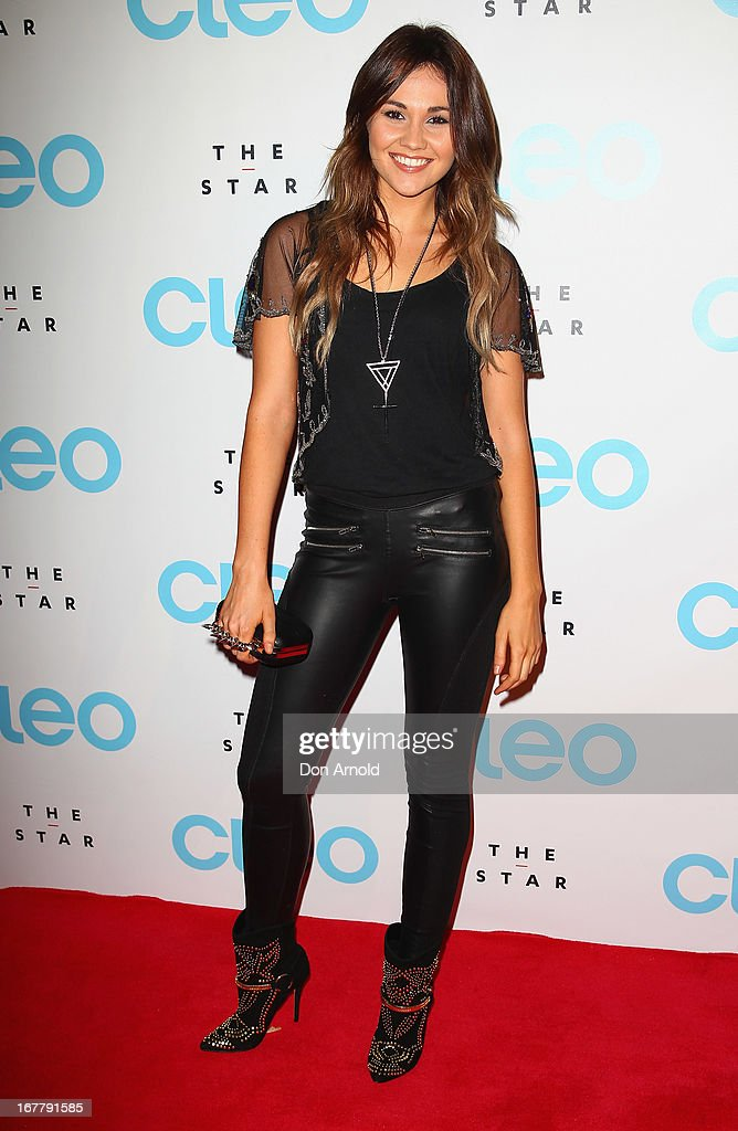 Sinead Burgess attends the CLEO magazine relaunch party at The Star on April 30, 2013 in Sydney, Australia.