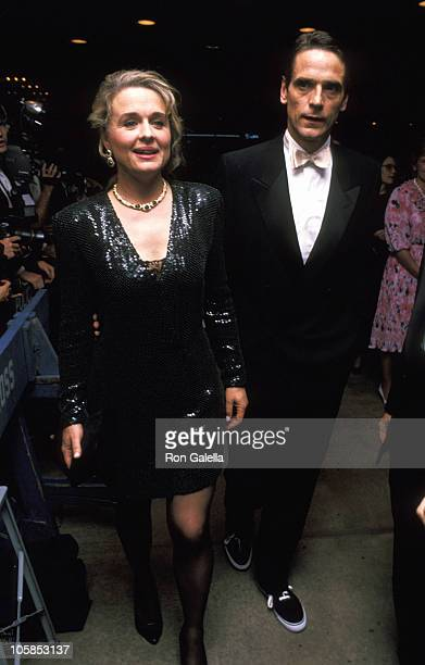 Sinead Cusack and Jeremy Irons during 45th Annual Tony Awards at Minskoff Theater in New York City New York United States