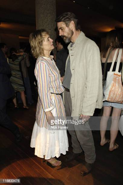 Sinead Cusack and Jeremy Irons during Cries from the Heart 2006 A Celebration of Voices for Justice in Support of Human Rights Watch June 18 2006 at...