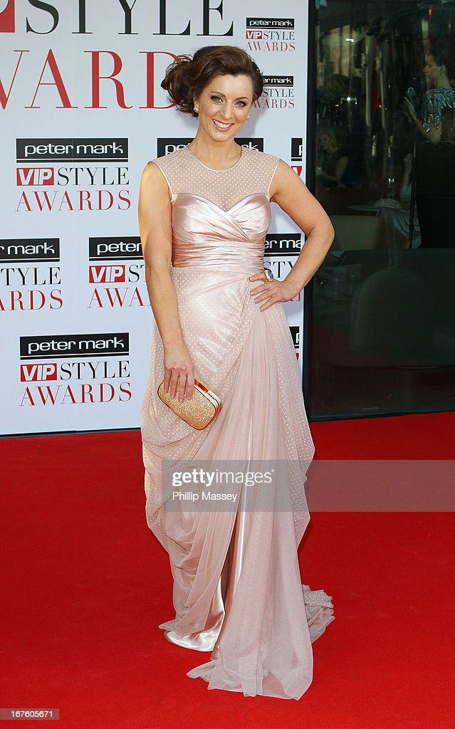 Sinead Desmond attends the Peter Mark VIP Style Awards at Marker Hotel on April 26, 2013 in Dublin, Ireland.