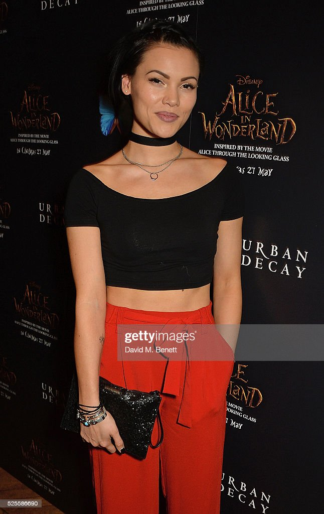 <a gi-track='captionPersonalityLinkClicked' href=/galleries/search?phrase=Sinead+Harnett&family=editorial&specificpeople=11127609 ng-click='$event.stopPropagation()'>Sinead Harnett</a> attend Urban Decay VIP dinner #UDinWonderland at Sketch on April 28, 2016 in London, England.