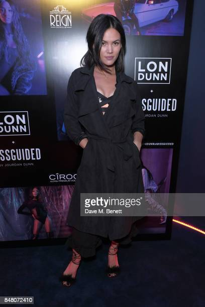 Sinead Harnett attends LON DUNN x Missguided Official Launch Party Hosted by Jourdan Dunn at The London Reign on September 16 2017 in London England