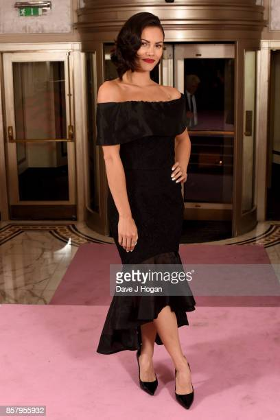Sinead Harnett attends the Amy Winehouse Foundation Gala at The Dorchester on October 5 2017 in London England