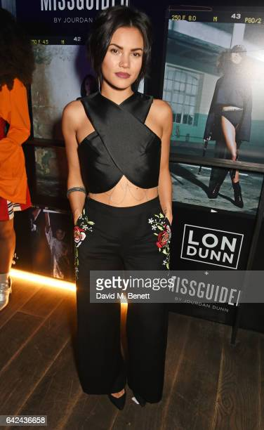 Sinead Harnett attends the Lon Dunn Missguided launch event hosted by Jourdan Dunn at The London EDITION on February 17 2017 in London England