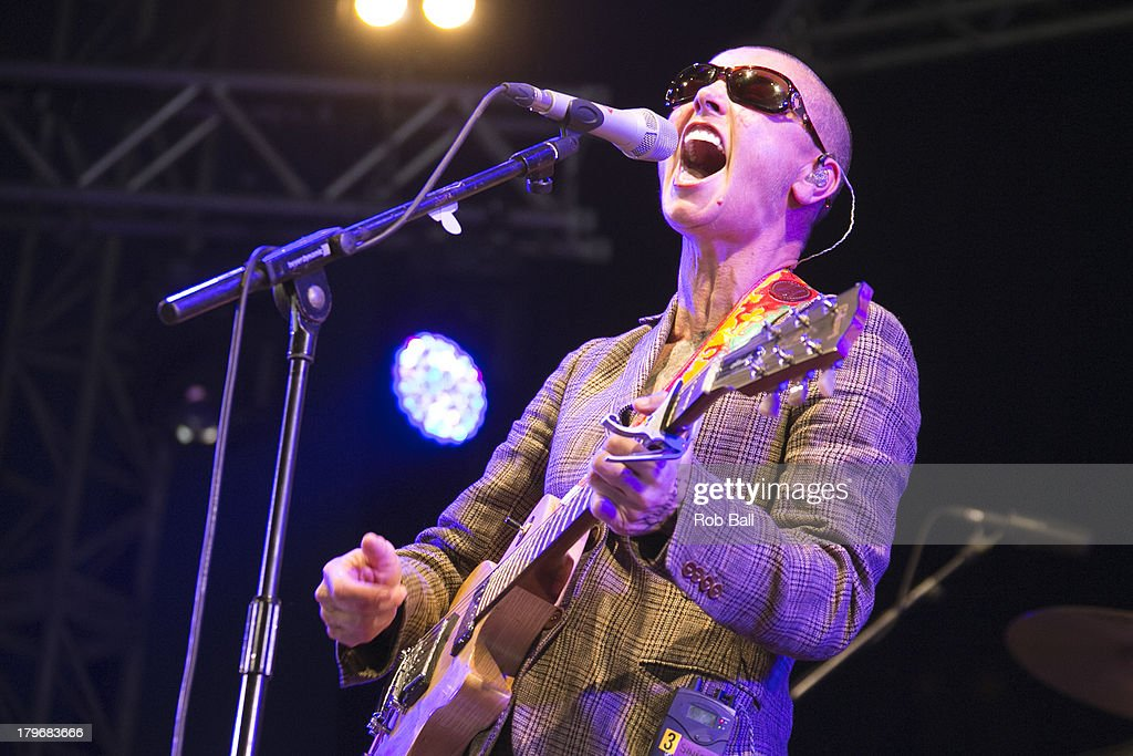 Sinead O'Conner performs at Day 2 of Bestival at Robin Hill Country Park on September 6, 2013 in Newport, Isle of Wight, United Kingdom.