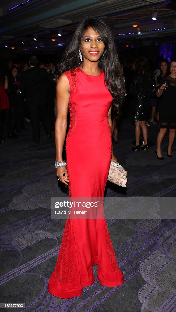 Sinetta attends the London Lifestyle Awards at the Troxy on October 23 2013 in London England