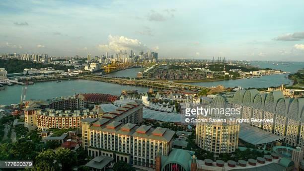 Singapore Ariel View