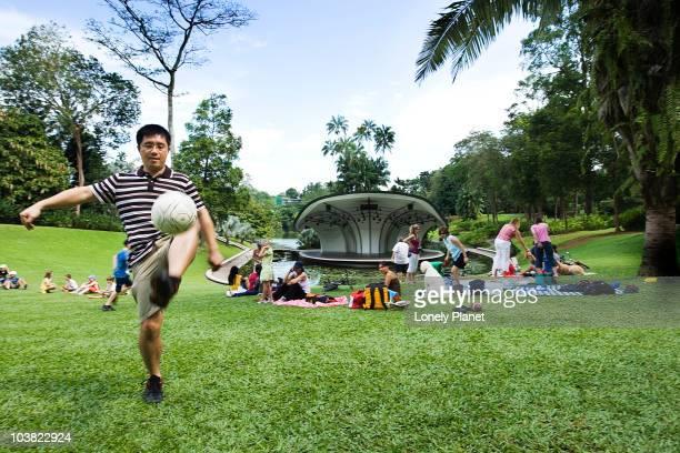 Jardin botanique de singapour photos et images de for Au jardin singapore botanic gardens