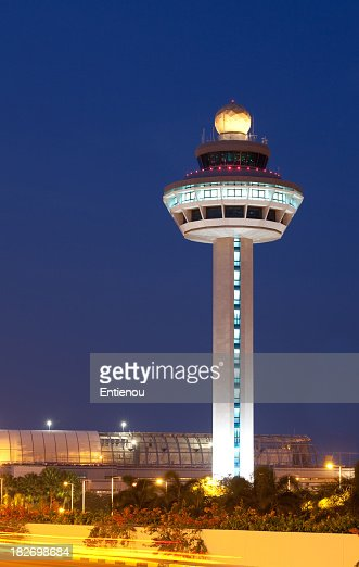 Singapore Changi Airport Control Tower
